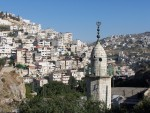 From this lower part of the city,  it was interesting to lookout and ponder David,  standing on the roof of his house and seeing the people in their daily lives below.