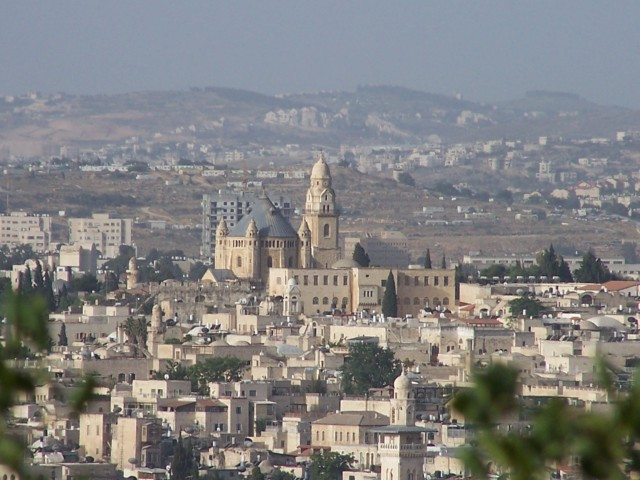 Church of Domitiance from Mt. Olives