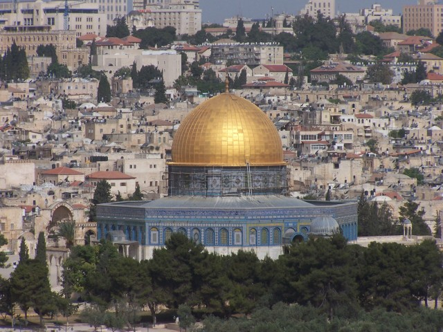 Dome of the Rock from Mt Olives
