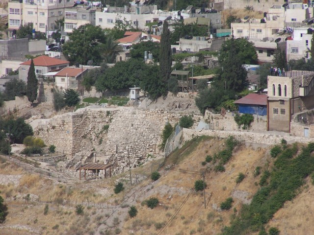 City of David from Mt. Olives