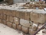 Ramah Racheal - Nari building stones -  Local building material - Gate wall