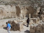 Herodion - Columnaded halls