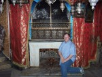 Bethlehem, Church of Nativity - Traditional site remembered for the birth place of Jesus Christ