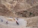 Wadi Qilt - It's a long way down
