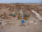 Tel Beer Sheva - Each home owner along the wall was responsible for protecting the city through his house.  They were the first line of defense.