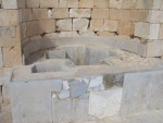 Tel Avdat - Baptistry, One for biggies, and one for litle ones