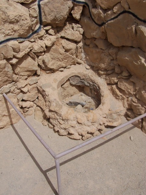 Masada - Bread baking oven