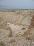 Qumran - The baren desert like wadi