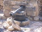 Tel Hazor - Olive press