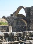 Kursi - bascilica arches