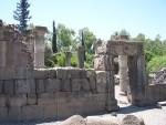 Qasrin - Synogogue entrance