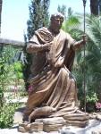 Capernaum - Statue of Peter