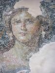 Zippori - monalisa mosaic detail