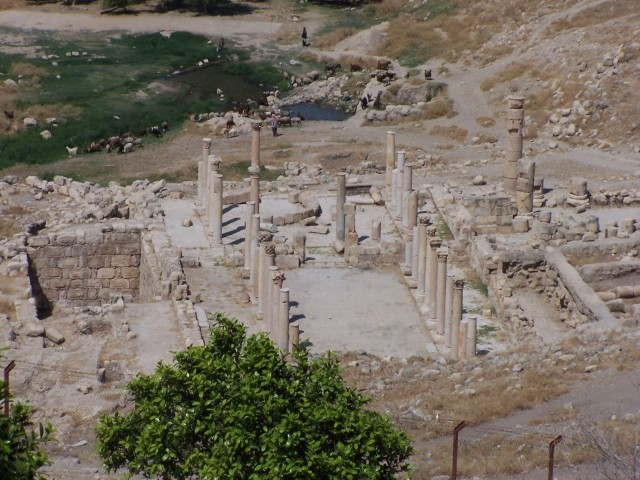 Pella - Bascilica view from Visitor center