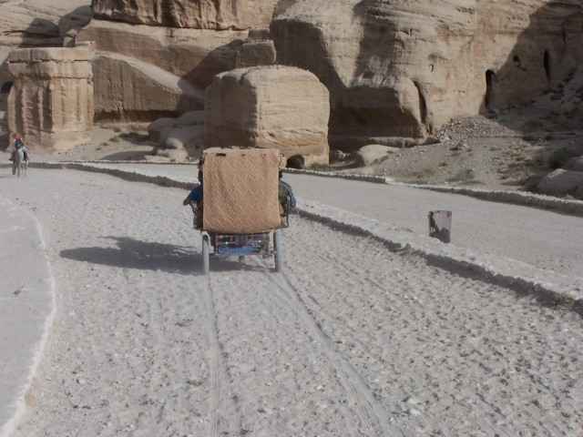 Petra - Others road in on Chariots . . .