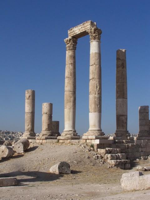 Ammon Citadel - Columns