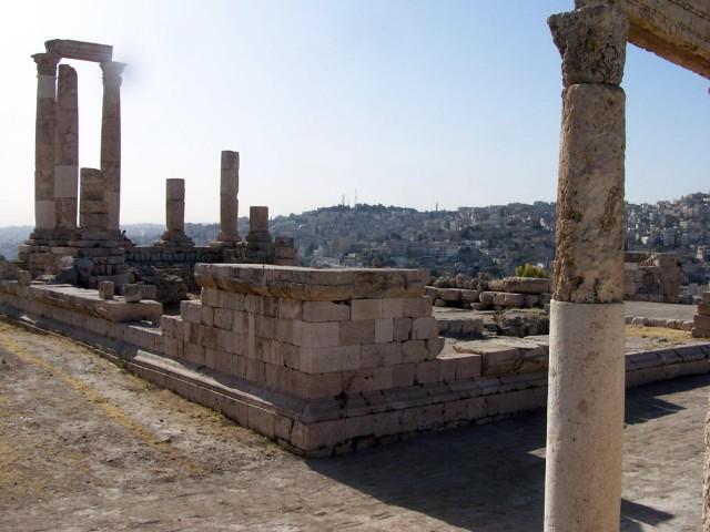 Ammon Citadel - Roman Temple