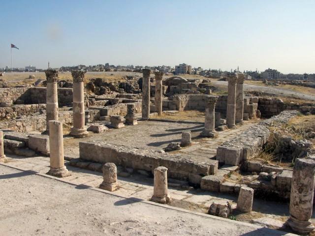 Ammon Citadel - Byzantine Basilica