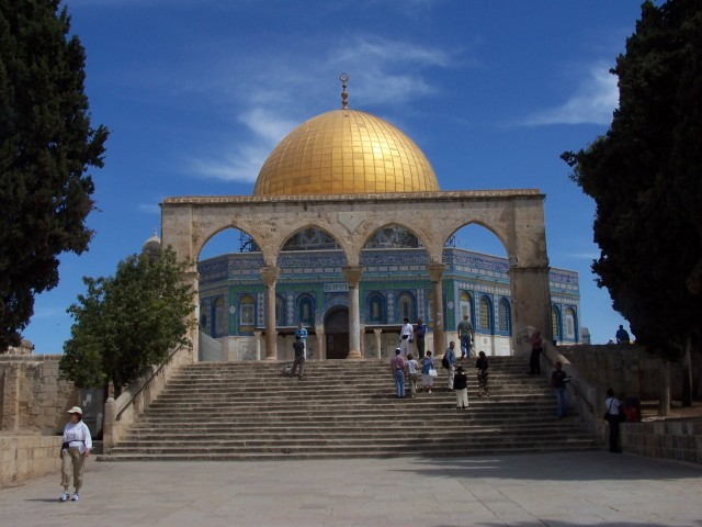 Temple Mount - Dome of the Rock,