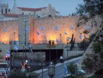 The Wall,  by Jaffa Gate