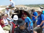 Paul teaching at Ceaserea Aquaducts