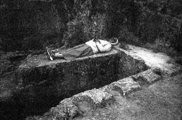 tomb alone