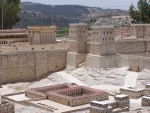 Bethsaida Pools and Temple Mount Model