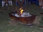Bonfire on Sea of Gallilee